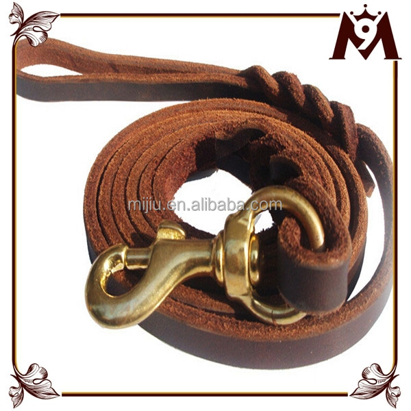 Made in Thailand products China supplier real leather dog leather collar