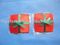 Wholesale Beauty Red With Bow Cleavage Petal Grease Nipple Covers