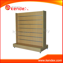 movable wood wall plate rack