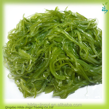 2017 Frozen salted wakame stem cut with length 4.5cm swelling 2.0 for Hiyashi seaweed salad