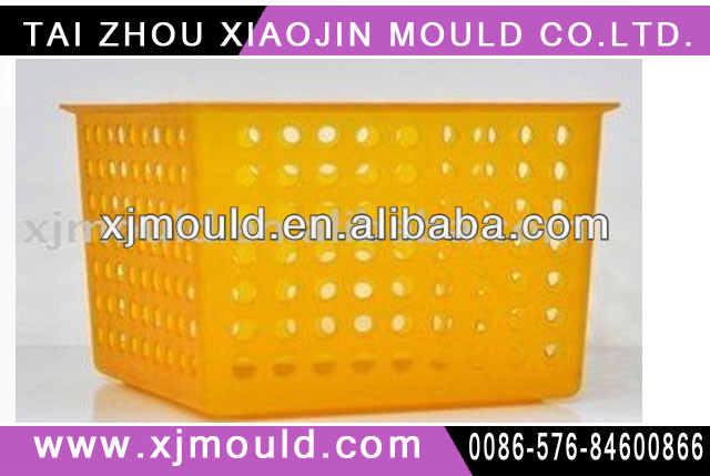square shape plastic basket mould for packing fruit