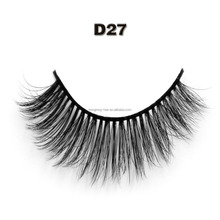 Private label Lashes 3D Faux Mink Strip silk Eyelashes for sale