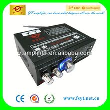 12V low power fm transmitter YT-688D with usb/tf