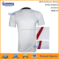 In stock wholesale football jersey Thailand quality soccer jersey