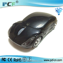 2015 Hot Sale Cheap Fashion 2.4g Cordless Car Mouse Wireless Car Mouse