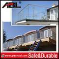 New product stainless steel glass balcony railing