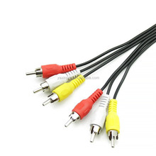 3 RCA male to male cable