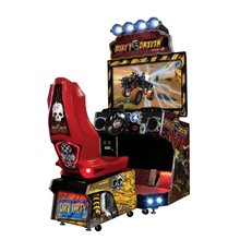 High quality 42''LCD Dirty Driving coin operated racing games simulators