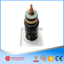 110 kV 350A Copper Conductor XLPE Insulation Power Cable for a short span,terminations kits