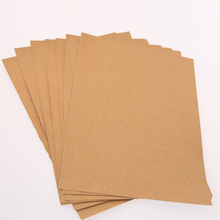 Natural brown kraft paper for wrapping