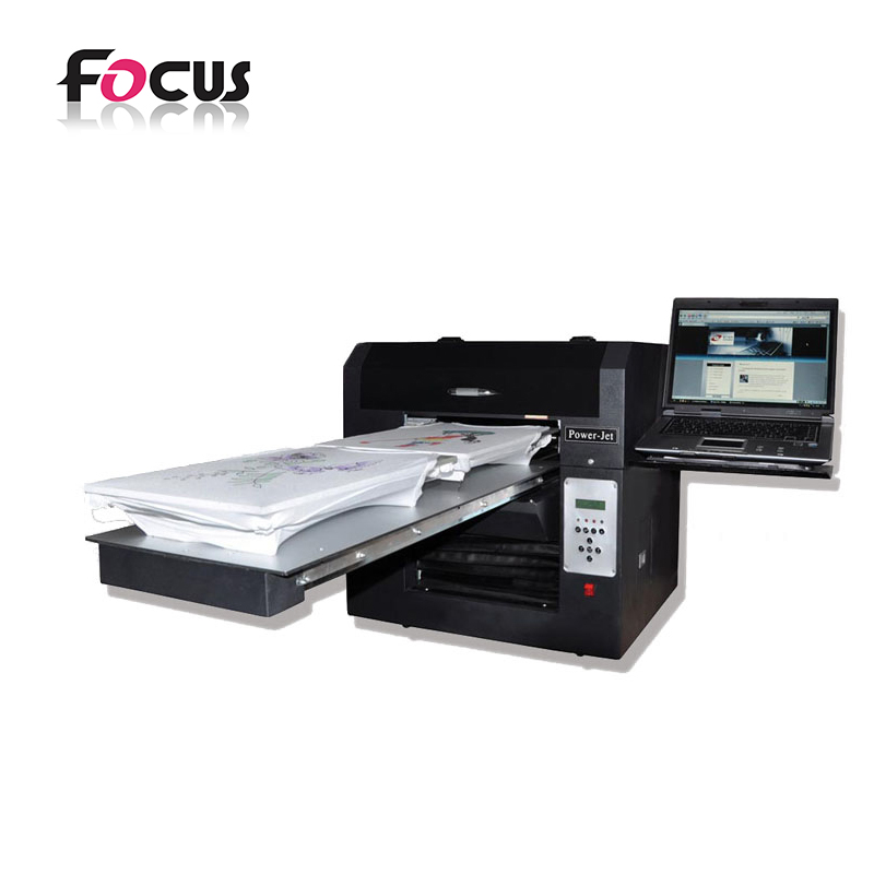 Garment Printer machine multicolor decal digital flatbed printer, digital printing textile machine