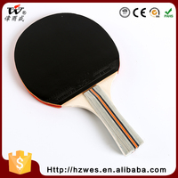 China Wholesale Market Agents OEM One Piece Colorful Handle Table Tennis Racket