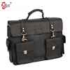 Factory Custom ostrich used leather briefcase