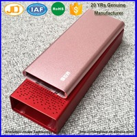 China Supplier Anodized Aluminum Extruded Enclosure for Electronic Power Bank Housing Factory Price