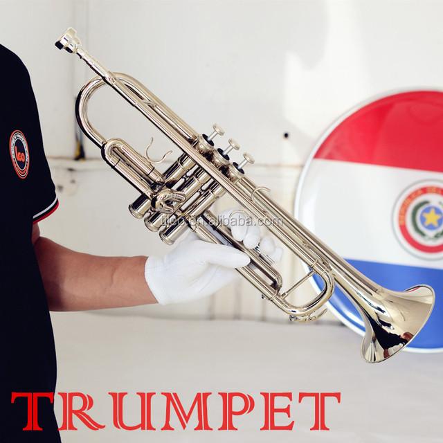Brass Wind Instrument, Cheap Student Nickel Trumpet