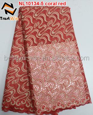nigeria tulle lace cheap fabrics bridal lace fabric of