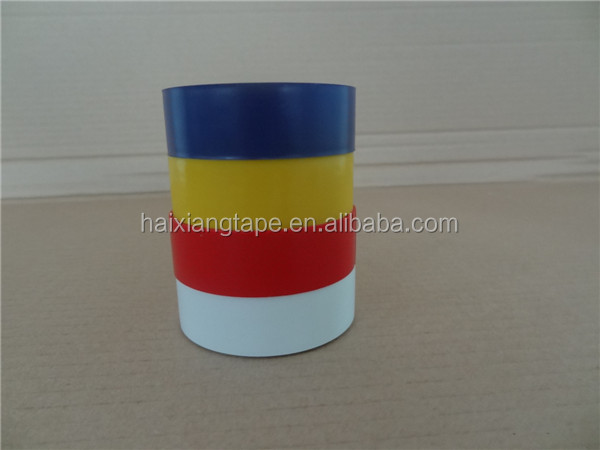 Colorful high adhesive pvc electrical insulation tape