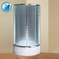 hotel complete enclosed cheap price 800mm shower room 6mm 8mm tempered glass square round shower enclosure