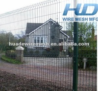 decorative welded panel fence/cheap fence panels