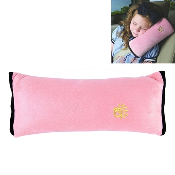 Hot Selling 2 PCS Children Baby Safety Strap Soft Headrest Neck Support Pillow Shoulder Pad for Car Safety Seatbelt