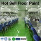 Environmentally friendly liquid 3d floors stone paint