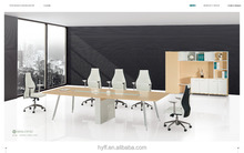 Quality guarantee office desk with partition