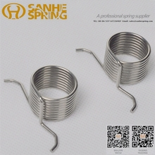 Stainless steel custom coil torsion springs for industrial usage