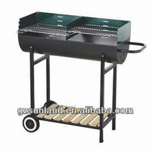 Barrel/Bucket BBQ Grill with Powder Coating/Painting