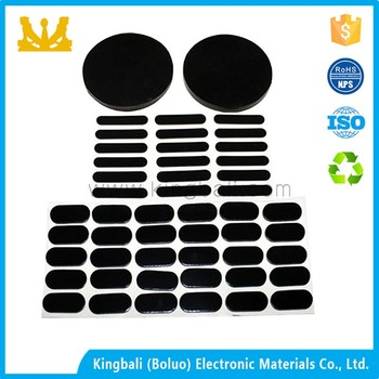 Wet skid resistant rubber foot pad rubber pad