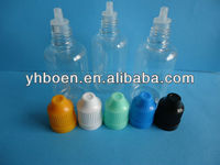Hot! empty 30ml PET medical eye drop bottles, plastic eye dropper bottle with child proof cap for e-liquid bottles