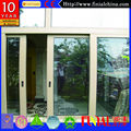 North American Double Glass Aluminium Sliding Doors with certificate AS2047/AS2208/CE