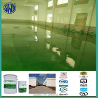 two component solvent free hand apply polyurea food processing floor coating