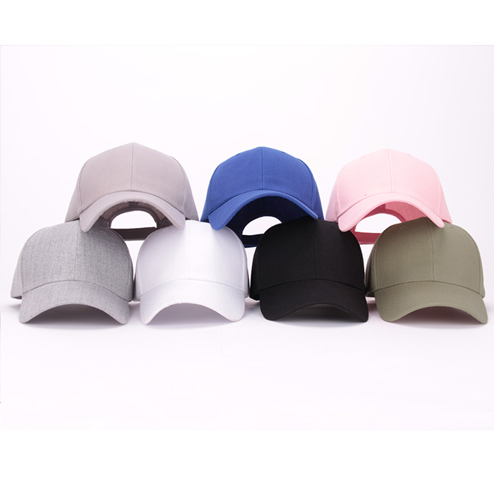 Wholesale custom high quality 100% cotton baseball cap
