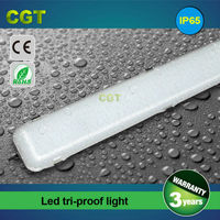 LED garage lights outdoor waterproof lighting fixture tri-proof tube light 2FT 3FT 4FT 5FT IP65 CE Rohs