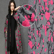 printed wool fabric for women coat