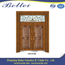 Low Price new design of main gate of home made of iron door