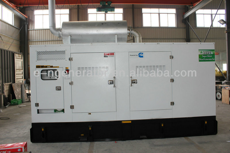 Silent canopy- brand 50HZ power generation 500 KVA / 400 KW silent