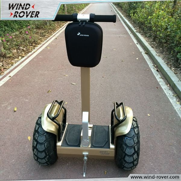 Fashionable two big wheel electric balance scooter motorized <strong>city</strong> bike with LED lights guide direction hoverboard