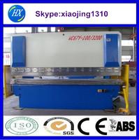 hydraulic press brake 6mm steel bending machine