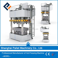 Shanghai PAIMO hot press wood pallet machine/sawdust drying machine