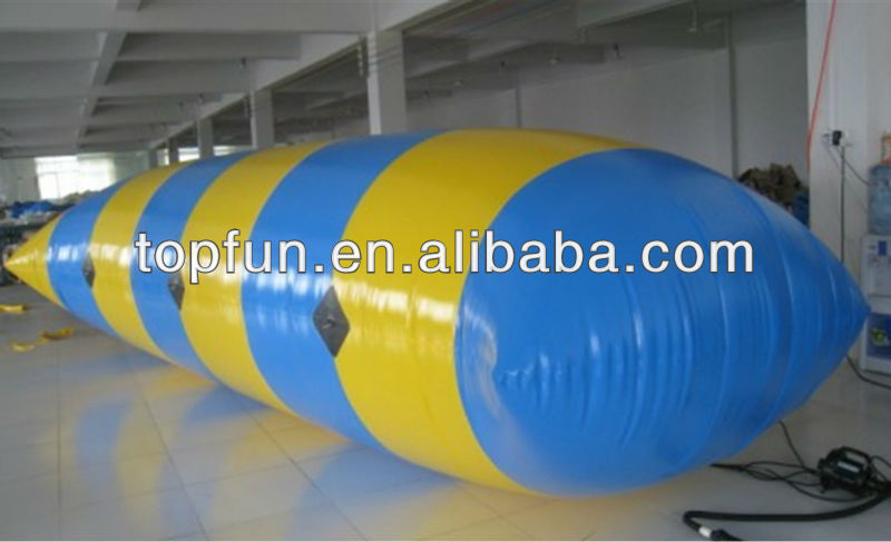 pvc inflatable blob jumper for water park