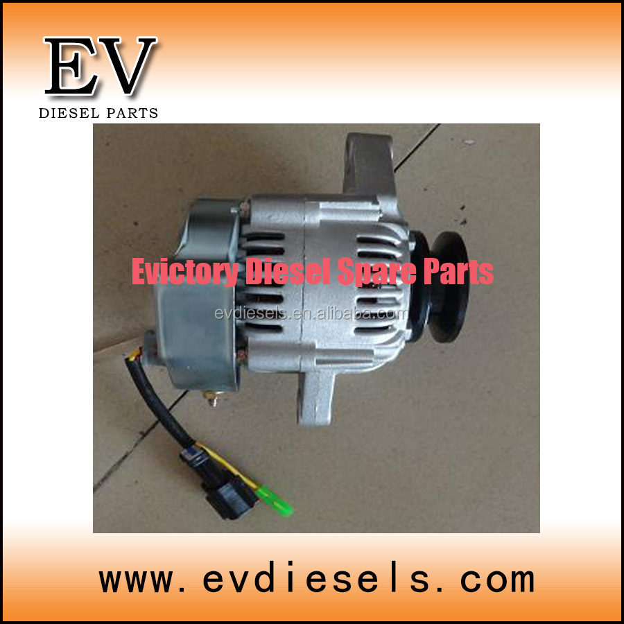 alternator 3TN84 3TNV84 3TNE84 alternator 3D84 3D84E diesel engine spare parts