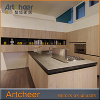 Quality Design Best Price Lacquer Kitchen Cabinet / Wall Mounted Kitchen Cupboards