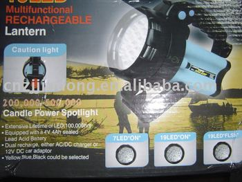 4 in 1 super led rechargeable lantern CE/ROHS
