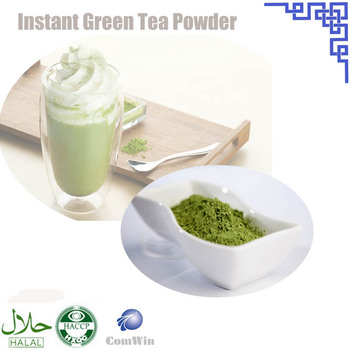 Factory supply matcha green tea powder with organic certification