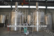 10BBL brewing beer raw material/brewing kit/brewing machine