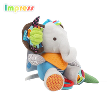 Educational soft musical toys baby bed hanging toy