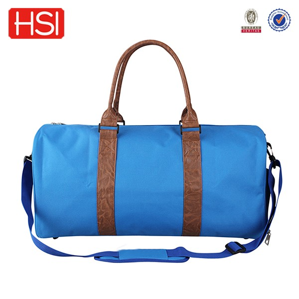 600d polyester 52cm length custom travelling duffle baggy bags