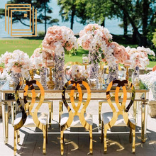 Stainless steel frame popular design popular tiffany chair for wedding