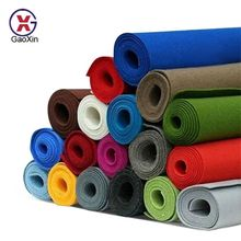 Non Woven Product Fabric Roll 100% Polyester Non-woven Fabric Cloth Color Felt Fabric